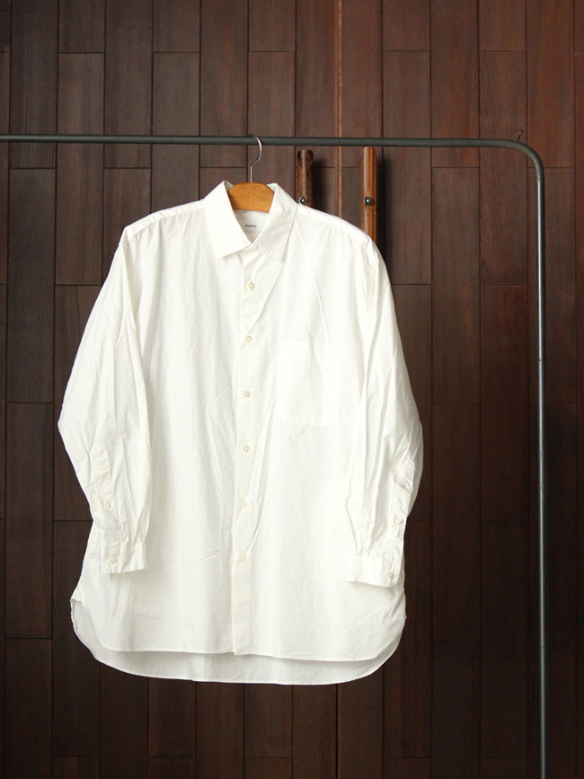 Marka wide spread collar shirts diffusion for Wide spread collar shirt