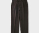 PHIGVEL MAKERS & Co. MIL WOOL TROUSERS #D.BROWN