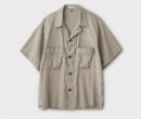 PHIGVEL MAKERS & Co.|RESORT SS SHIRT JACKET #TAUPE GRAY