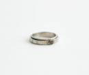 Maison Margiela |NUMBER SPIN LING NARROW #SILVER [SM2UQ0008]