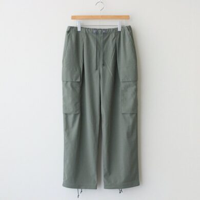 CURLY|PROSPECT CARGO TROUSERS #OLIVE [212-43061]